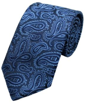 L A Smith Tie F1765/1 Blue